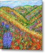 Impressionism- Flowers- Dreaming Of Spring Metal Print