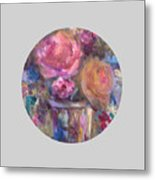 Impressionist Floral Art Metal Print