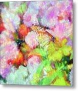 Impressionist Floral Xxxi Metal Print