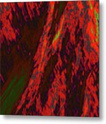 Impressions Of A Burning Forest 10 Metal Print