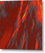 Impressions Of A Burning Forest 6 Metal Print
