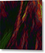 Impressions Of A Burning Forest 9 Metal Print