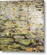 Impressions Of Giverny Metal Print