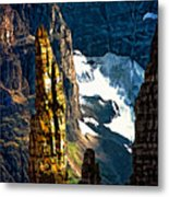 In A High Place Metal Print