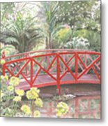 In Abbotsbury Subtropical Gardens. Metal Print