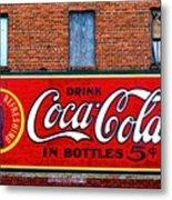 In Bottles Metal Print