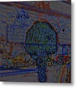 In Color Abstract 4 Metal Print