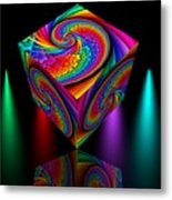 In Different Colors Thrown -4- Metal Print by Issabild -