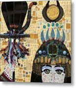 In Dreams Of Ricky Bobbie And Me In Egypt Metal Print