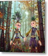 In Harmony With Nature Metal Print