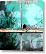 In Or Out Metal Print