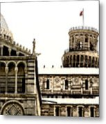 In Pisa Metal Print