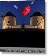 In Search Of Beauty Metal Print