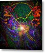 In Search Of Cosmic Pi 3.14 Metal Print