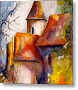 In Southern France Metal Print
