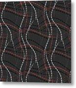 In Stitches Metal Print