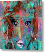 In The Abscence Of  My Brushes Metal Print