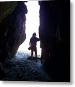 In The Cave Metal Print