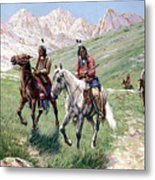 In The Cheyenne Country Metal Print
