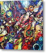 In The Circle Of Time Metal Print