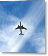 In The Cloud X Zone Metal Print