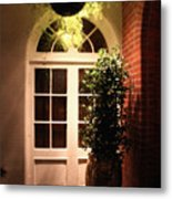 In The Courtyard Metal Print