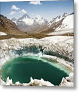 In The Depth Of Pamir Metal Print