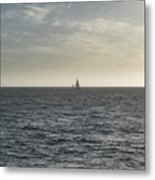 In The Distance Metal Print