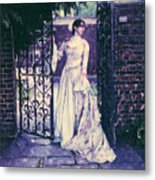 In The Doorway... Metal Print