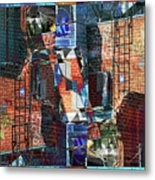 In The Down Town Metal Print