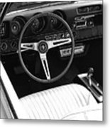 In The Driver's Seat 2 Metal Print