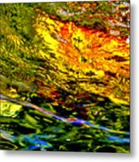 In The Flow 3 Metal Print