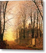 In The Golden Olden Time Metal Print