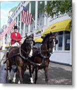 In The Grand Mackinac Manner Metal Print