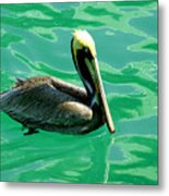 In The Green Zone Metal Print