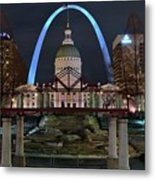 In The Heart Of St Louis Metal Print