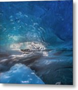 In The Ice Metal Print