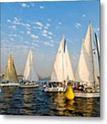 In The Lead At The Pin Metal Print