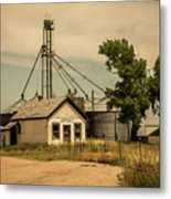 In The Middle Of Nowhere Metal Print