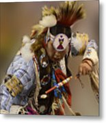 Pow Wow In The Moment Metal Print
