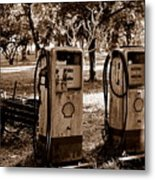 In The Old Days... Metal Print
