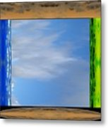In The Presence Of The Divinity Metal Print
