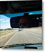 In The Road 2 Metal Print