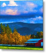 In The Rogue Valley Metal Print