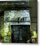 In The Springhouse Metal Print