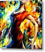 In The Style Of Flamenco Metal Print