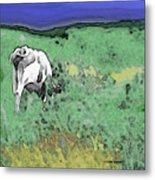In The Sweet Fields Metal Print
