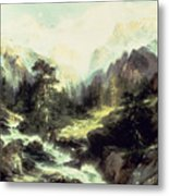 In The Teton Range Metal Print