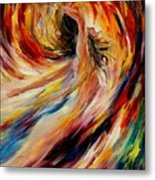 In The Vortex Of Passion Metal Print