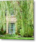 In The Weeping Willows Metal Print